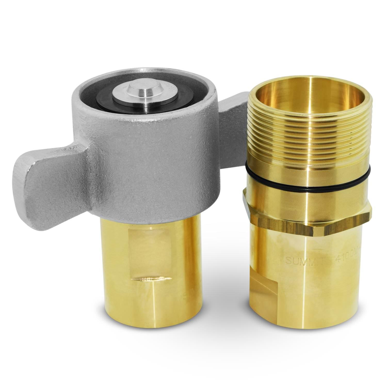NPSM FE 1-1//2-11 X 1-1//2-11 1//2 Continental Hydraulic Adapter Fitting NPSM Female Swivel