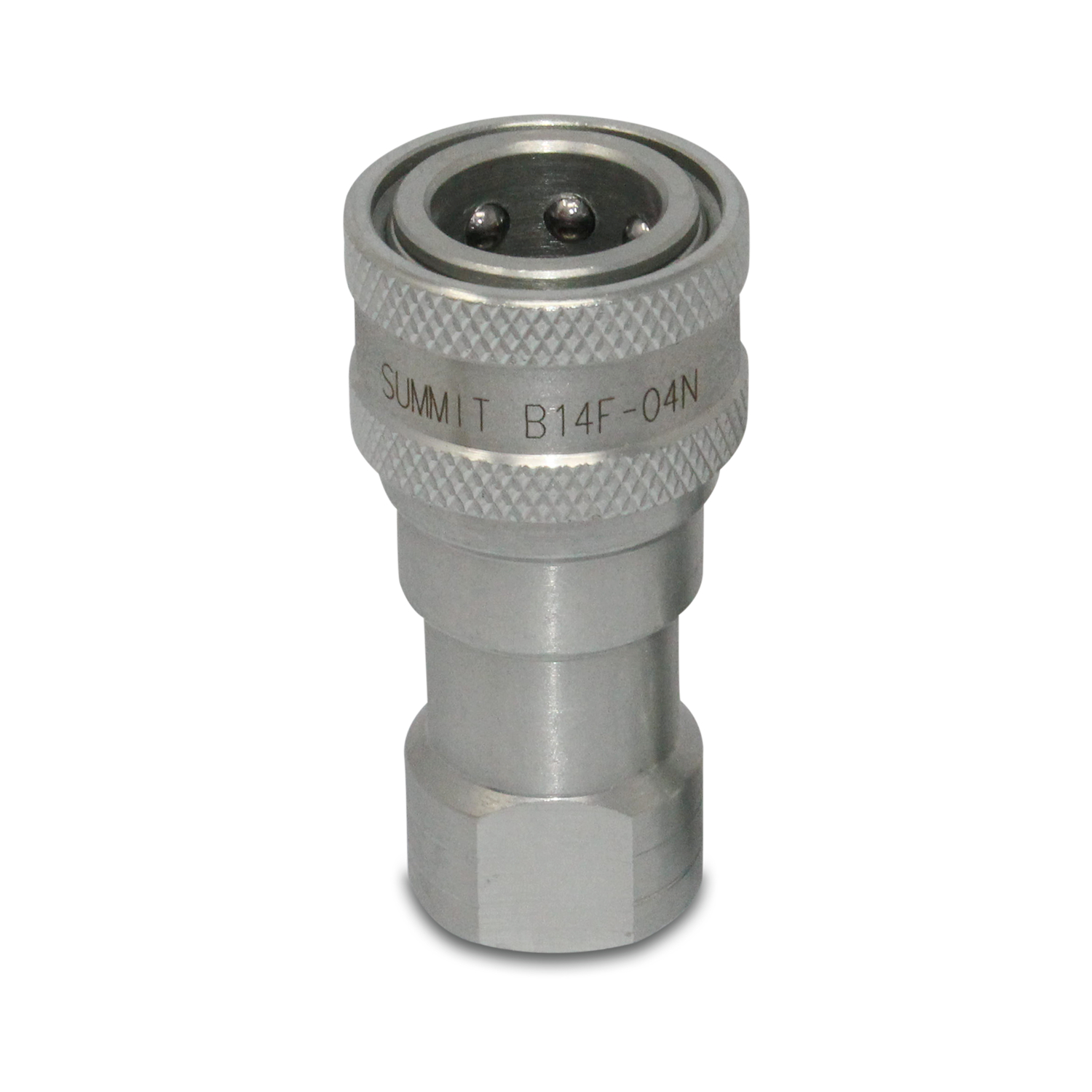 3//8/″ ISO 7241-B Quick Disconnect Hydraulic Coupler Set 1//2/″ SAE Thread