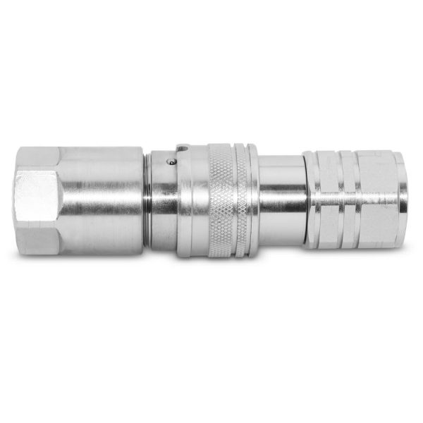 Flat Face Coupler 58 Connected