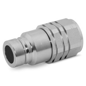 Flat Face Coupler 58 Male ISO