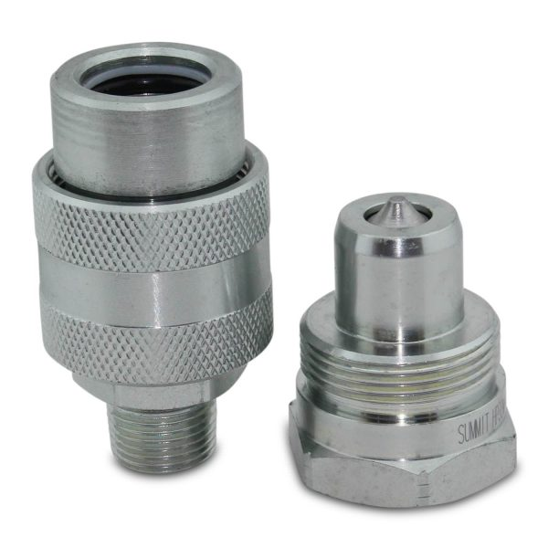 High Pressure Hydraulics : Quot psi high pressure hydraulic quick coupler set