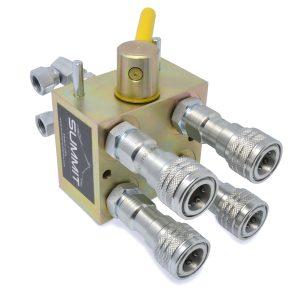 Manual Hydraulic Multiplier Diverter Valve Kit for Kubota