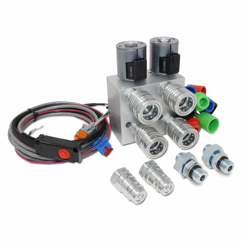Fasse Hydraulic Multiplier : Hydraulic multiplier valve scv splitter diverter with