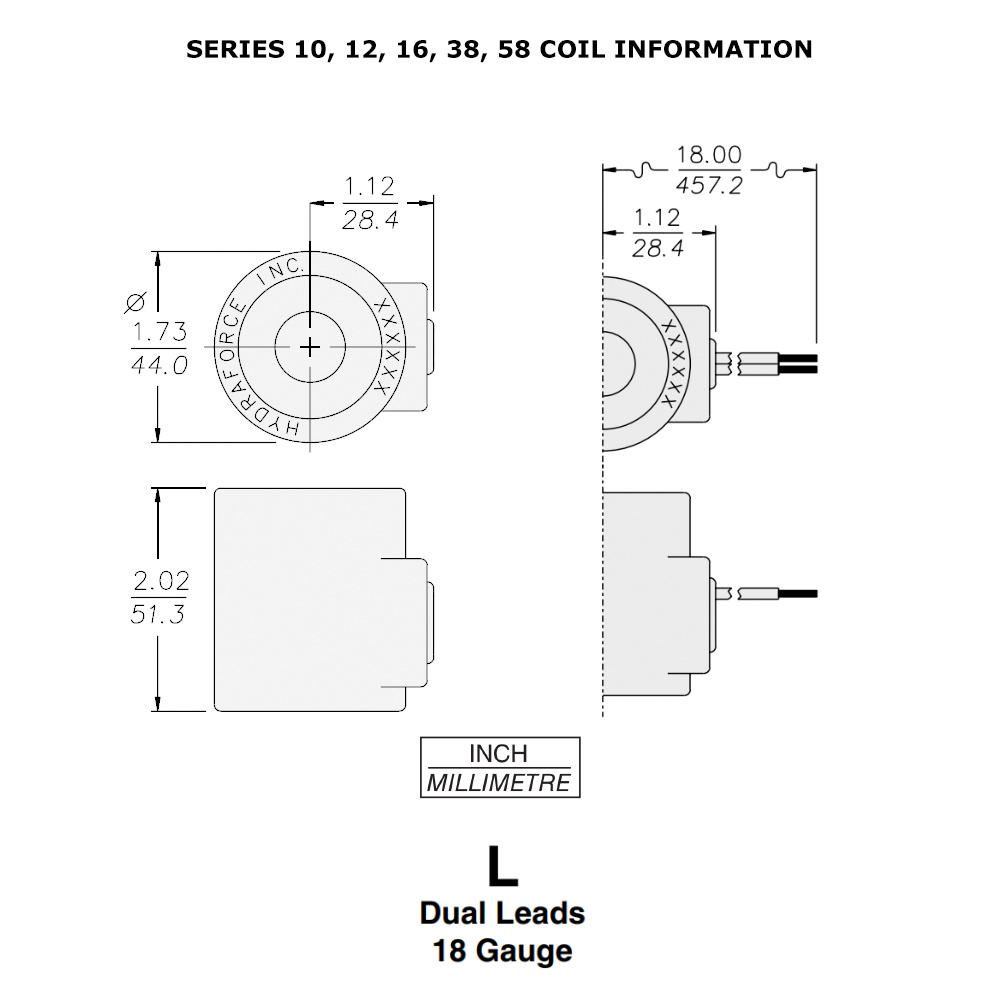 Hydraulic Wiring Diagram 12 Volts Dc Coils Electrical Diagrams 12v Solenoid Valve Hydraforce 6352012 Coil Wire Leads 10 Series Ferguson To 35 Volt