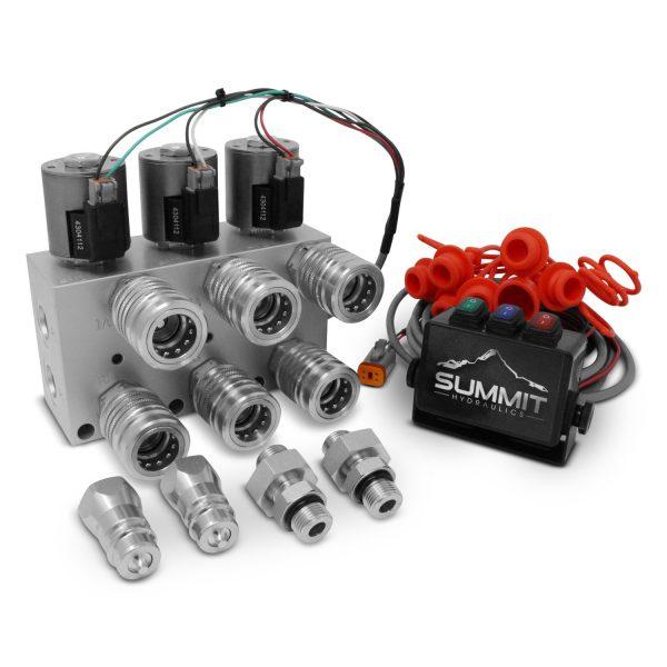 Hydraulic Multiplier 3 Circuit HM3-08-SBC Tripler