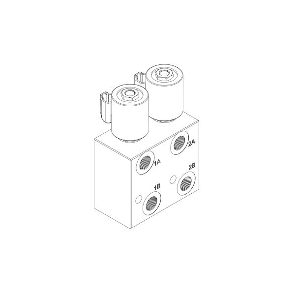 Front view of HM2-08 CAD Diagram