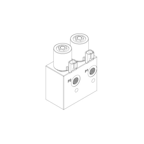 Back view of HM2-08 CAD Diagram