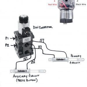 Hydraulic Solenoid Selector DV50 Instruction Diagram, How a Diverter Valve Works; Diverter Selector Valve