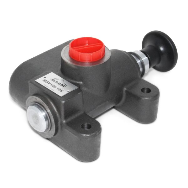 Manual Hydraulic Selector Valve, 3-Way, 2 Position, 31 GPM, #12 SAE Ports