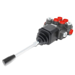 Hydraulic Directional Control Valve for Tractor Loader w/ Joystick, 2 Spool, 11 GPM