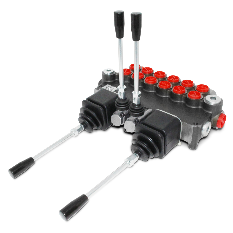 Hydraulic Joystick Control : Monoblock hydraulic directional control valve w