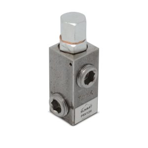 "Adjustable High Pressure Relief Valve, 16 GPM, 2500 PSI, 3/4"" NPT"