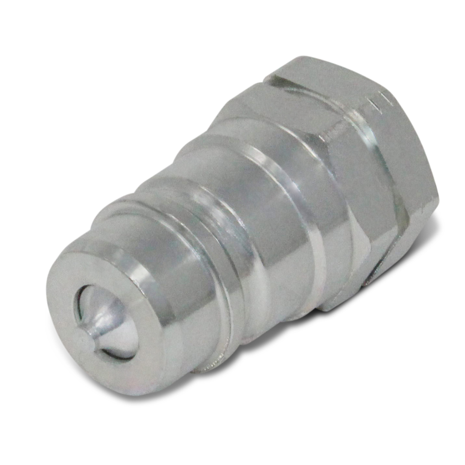 1//2 Ag ISO 5675 Hydraulic Quick Connect Male Coupler 1//2 NPT 1//2 NPT Summit Hydraulics 2 Pack Poppet Valve