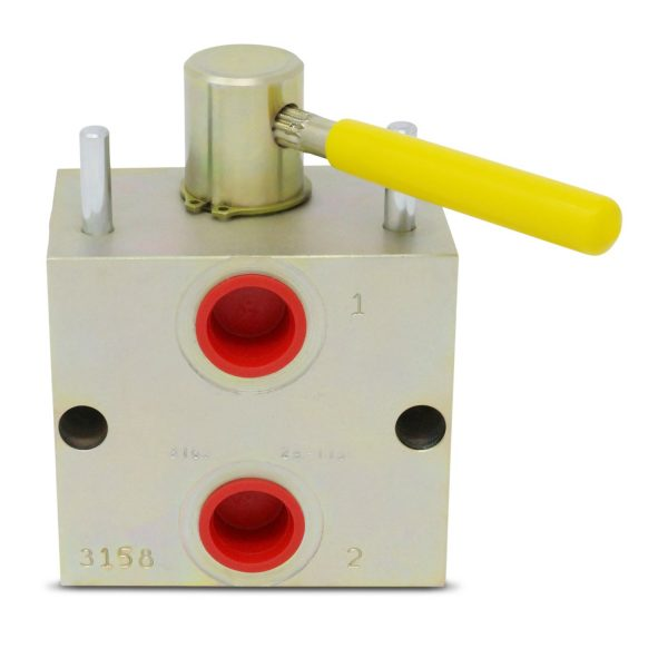 Manual Hydraulic Multiplier, Splitter / Diverter Valve