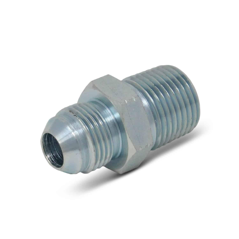 Hydraulic hose adapter quot jic male npt pk