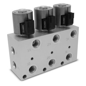 Hydraulic Multiplier Kit 3 Circuit Selector Valve