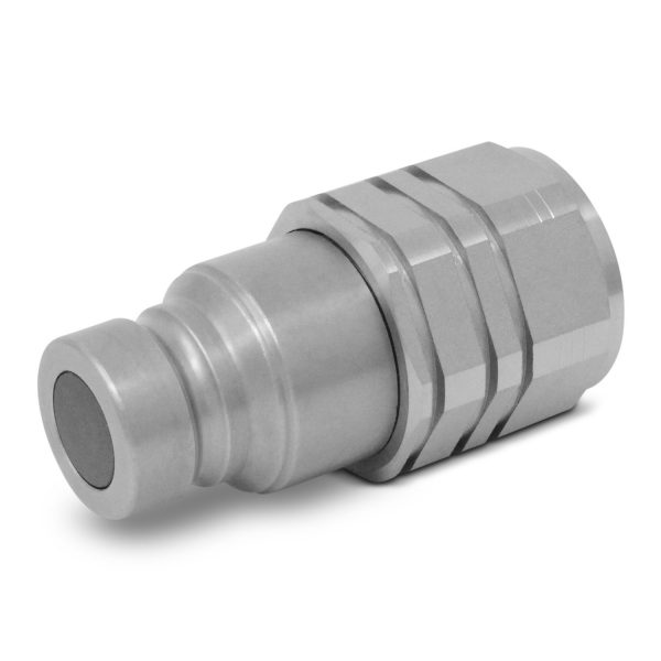 1/2 Flat Face Male Coupler ISO