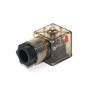 DIN 43650 Plug w/ LED Indicator