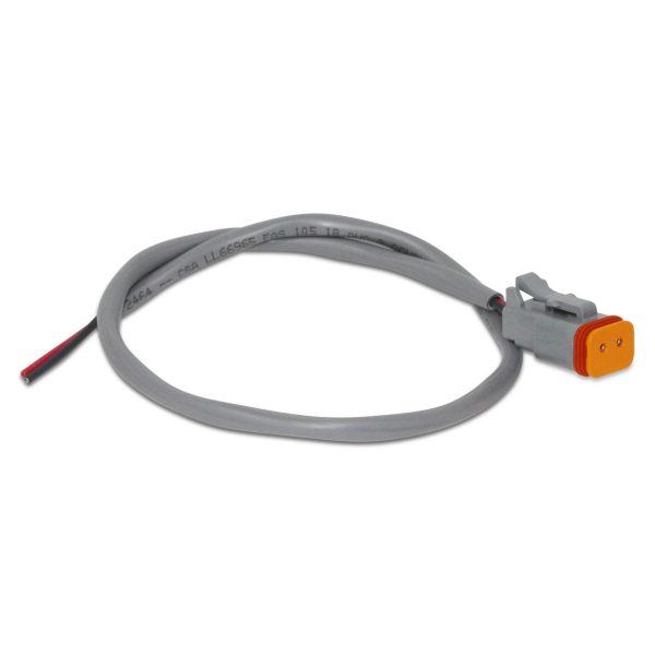 Deutsch DT06-2S Male Solenoid Connector w/ Wire Leads
