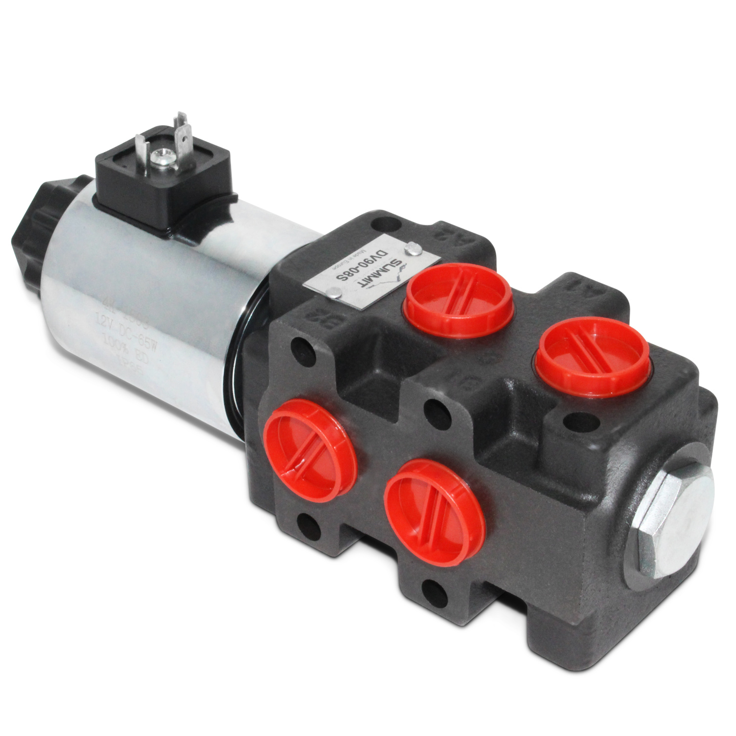 12v Hydraulic Selector Valve : Hydraulic multiplier selector diverter valve w switch gpm