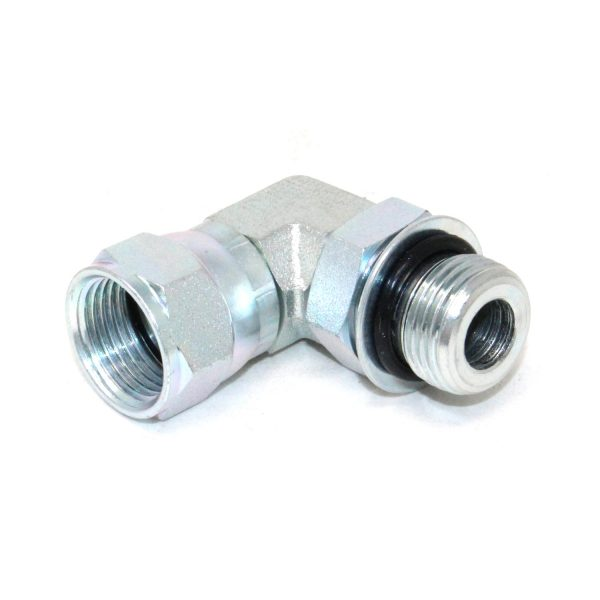 """6801-08-08 Elbow Fitting 90° 1/2"""" JIC Male to #8 SAE/ORB Male"""