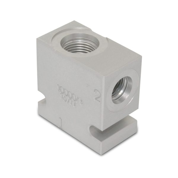 """Hydraulic Proportional Flow Divider Valve, 50:50, 8 GPM, 3/8"""" NPT Ports"""