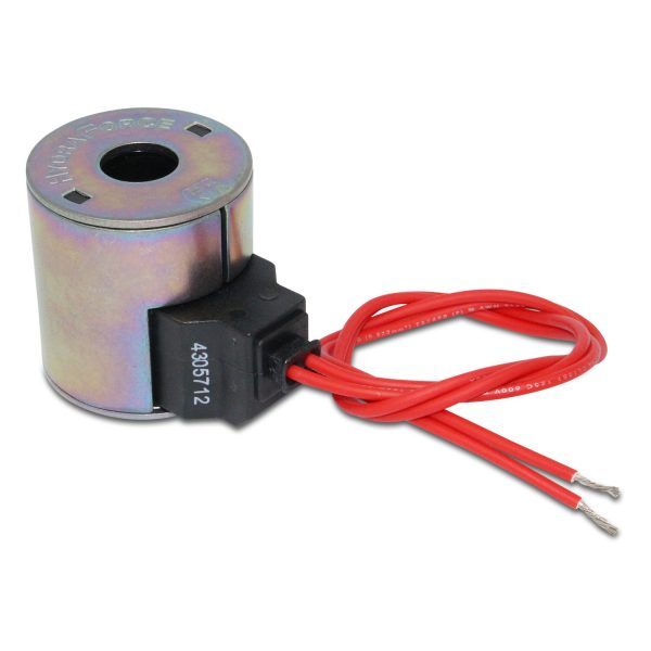 HydraForce 4305712 Solenoid Valve Coil, Wire Leads, 12v DC, 10 Series