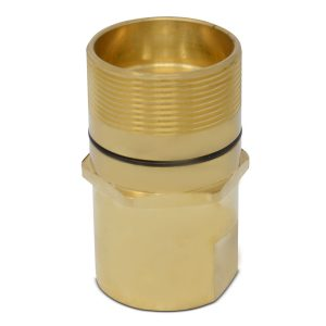 Wet-Line Wing Nut Hydraulic Quick Disconnect male Coupler