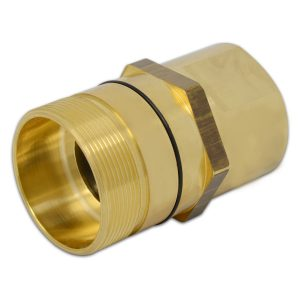 Wet-Line Wing Nut Hydraulic Quick Disconnect Female Coupler