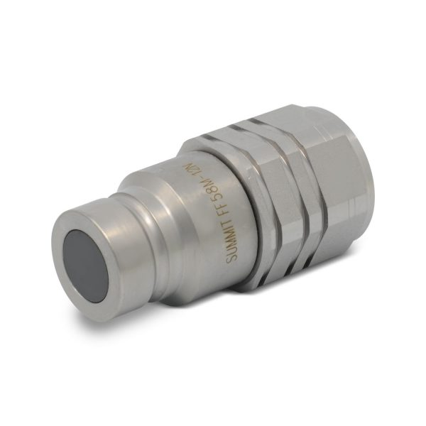 "5/8"" Flat Face Male Coupler"