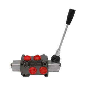 Hydraulic Manual Actuated Lever Selector/Diverter Valve, 13 GPM