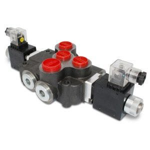 Hydraulic Monoblock Solenoid Directional Control Valve, 1 Spool, 21 GPM, 12V DC