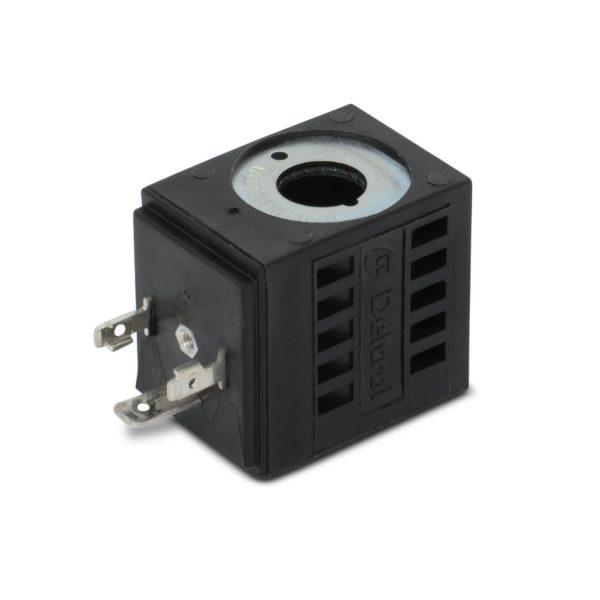 Deltrol 10246-43 Solenoid Coil, Three Spade DIN Connector, 120v AC, 08 Series