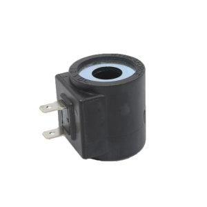 """Hydraforce 6301010; Size 08 Solenoid Coil; 10v Dc, Dual Spade Connector. Watts: 14.7Amps: 1.47 Current DrawVolts: 10 Volts DC Connection: 1/4"""" Dual Spades. - Free Shipping"""