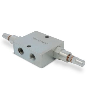 """Dual Crossover Hydraulic Relief Cushion Valve, 3/8"""" NPT Ports"""