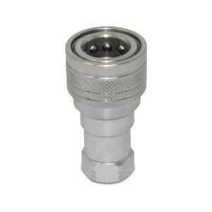 "Kubota 7J417-66320 Replacement Female Hydraulic Quick Coupler, 3/8"" NPT"