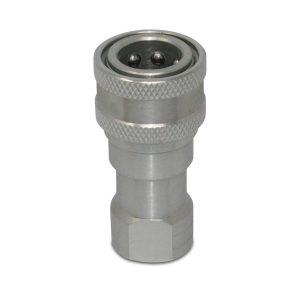 "Kubota 7J612-66323 Replacement Female Hydraulic Quick Coupler, 1/4"" NPT"