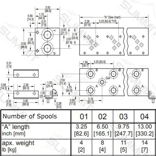 D05 D100 Dimensional Drawing