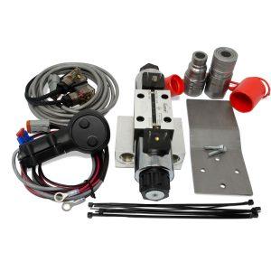 Universal Hydraulic Third Function Valve Kit w/ Joystick Handle, 15 GPM
