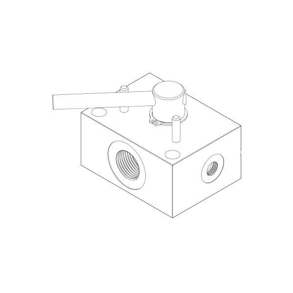 CAD Diagram of RDV3-12